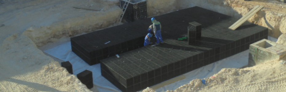 HIDROBOX ATTENUATION CRATES FOR SUSTAINABLE DRAINAGE